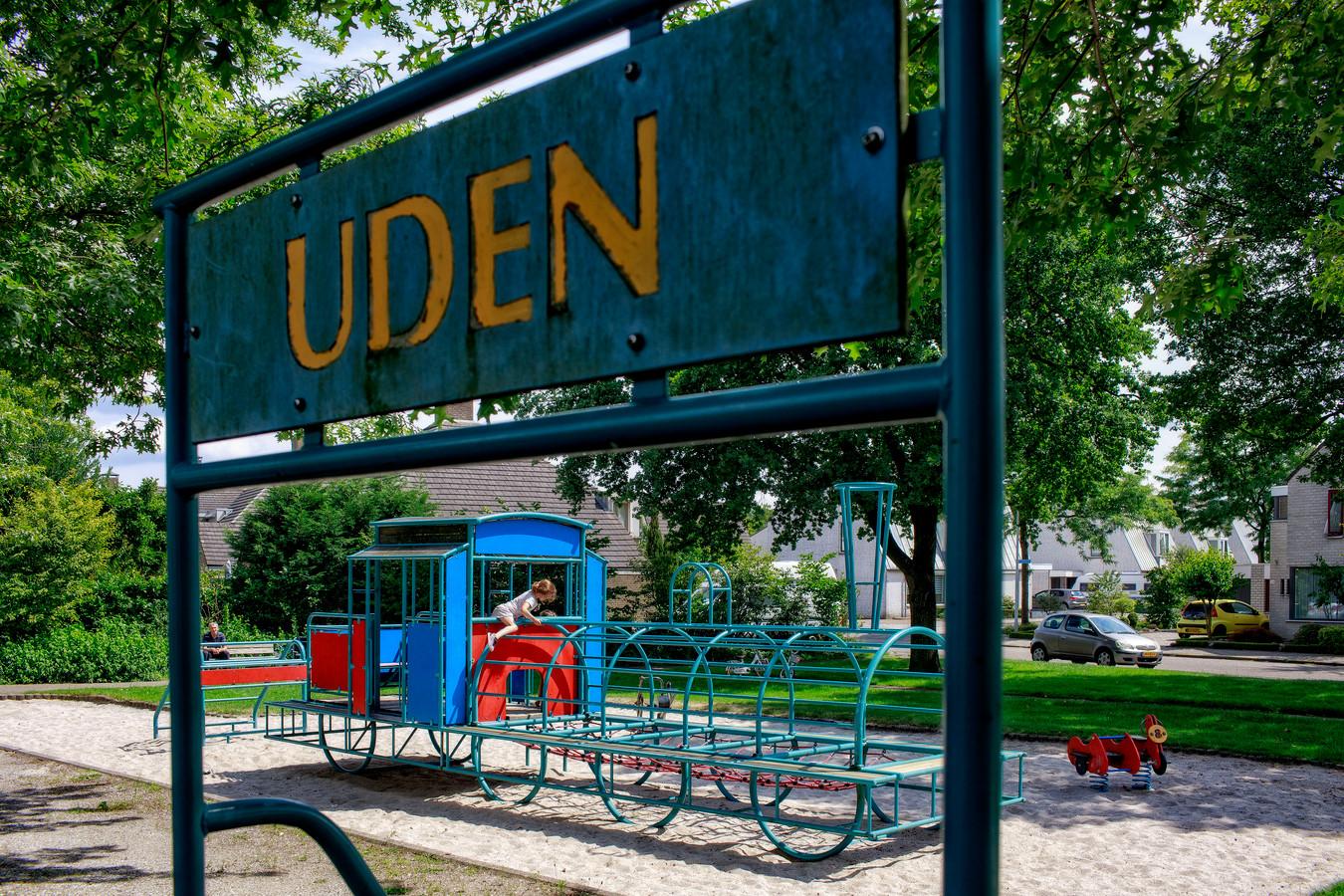 Ter herinnering is in een woonwijk een speeltuin aangelegd met 'halte Uden'. Er staat een ijzeren klimrek in de vorm van een locomotief.