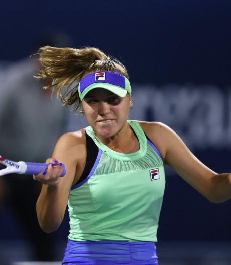 Australian Open-winnares Kenin bereikt finale in Lyon