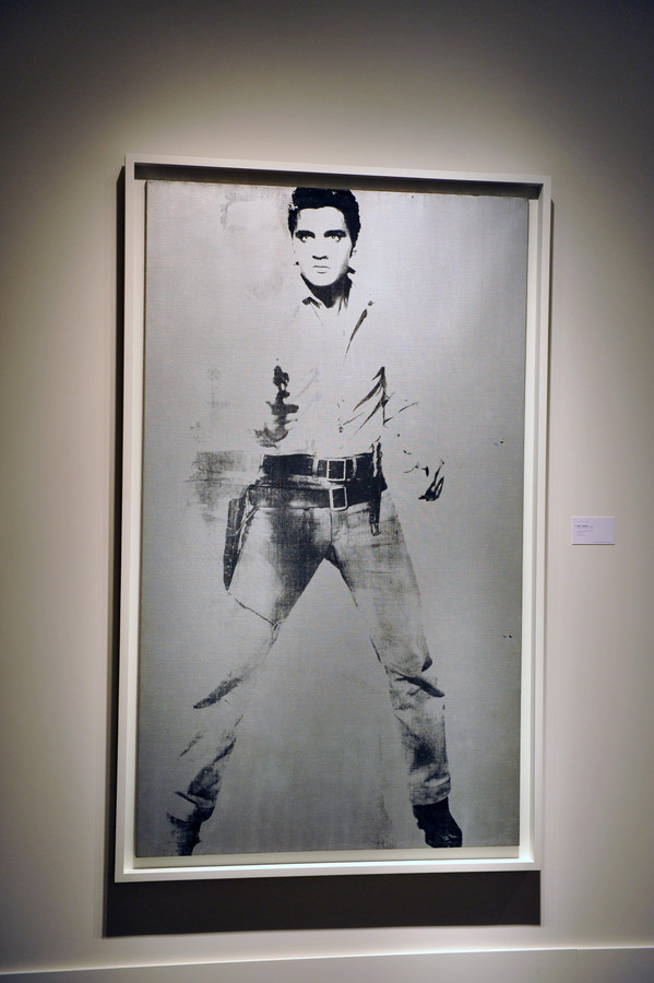 'Double Elvis' van Andy Warhol.