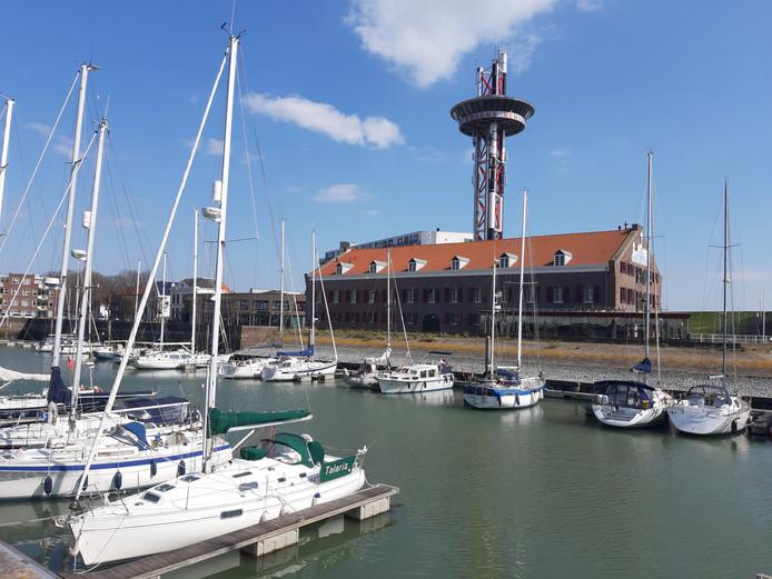Een nachtje in de haven in Vlissingen kost volgend jaar 1,57 euro toeristenbelasting.