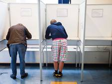 Stemmen onder toeziend oog scholieren in Lochem