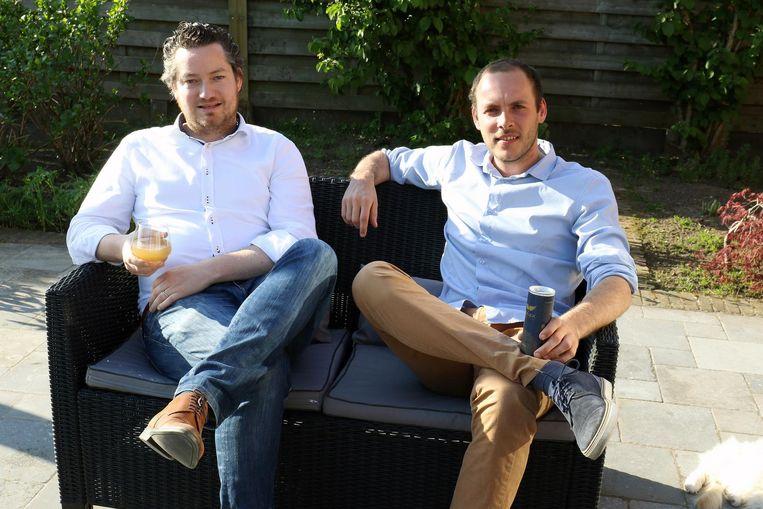 Christophe De Geyter en Alexander Mahieu hebben een drankje ontwikkeld waarmee katers voorgoed van de baan zouden moeten zijn.