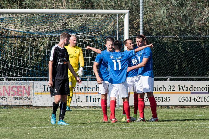 RKTVC viert de 1-0 van Francis Nijhof