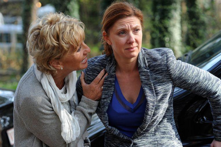 'Familie'-fans hopen op pittige scènes met Veronique, die er met Marie-Roses ex Mathias vandoor ging.