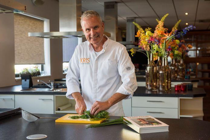 Chef-kok Kris Michels uit Leende schreef samen met Charlotte Labee het voedingsboek Brain Food.