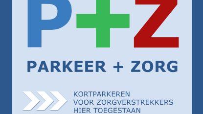 Zorgversterkers mogen voor garage bij jouw huis parkeren als er P+Z sticker kleeft op zichtbare plaats
