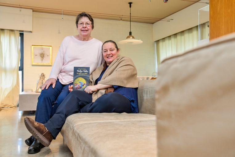 Patricia De Landtsheer en Melissa Muys werkten samen om twee nieuwe kinderboeken vorm te geven.