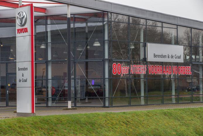De lege showroom bij Berendsen en de Graaf. Foto: Frans Paalman
