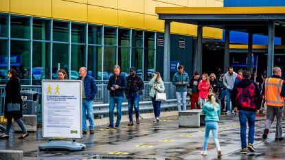 Voorbode voor België? Lange wachtrijen aan heropende IKEA-winkels in Nederland