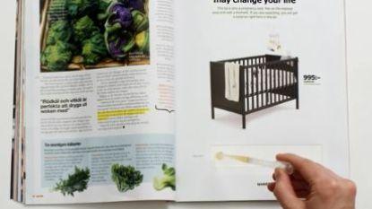 Plas op deze Ikea-reclame en kom te weten of je zwanger bent (en korting krijgt)