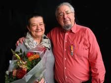 Lintje voor dirigent Piet van der Sanden van Ulfts Mannenkoor
