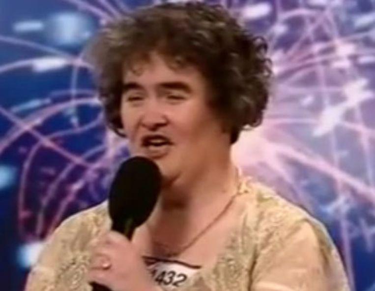 Boyle kreeg een staande ovatie toen de jury haar 'de grootste verrassing ooit in het programma' noemde. Beeld