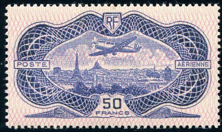 Een Franse postzegel uit 1936 Beeld Catawiki