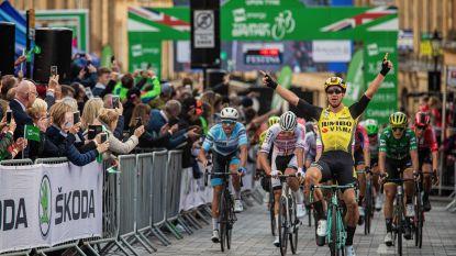 Groenewegen vloert Van der Poel in Tour of Britain
