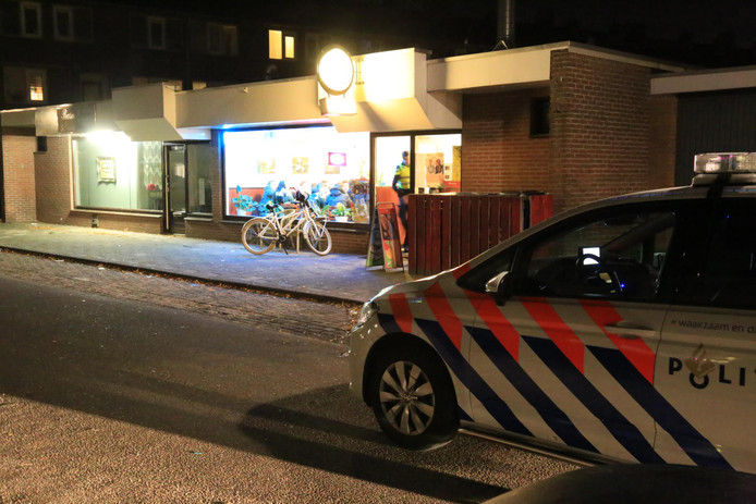 Overval op het cafetaria in Helmond.