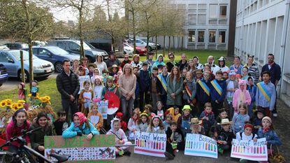 Kinderraad stapt mee in carnavalsstoet