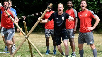 FOTO. Lachen en plezier op teambuilding bij Standard