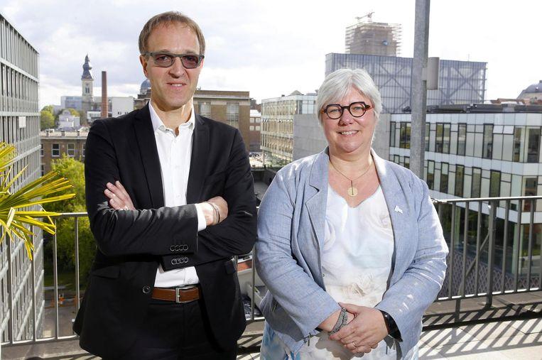 Rik Van De Walle en Mieke Van Herreweghe raakten bij de vorige rectorverkiezingen in 2017 pas verkozen na negen stemrondes.