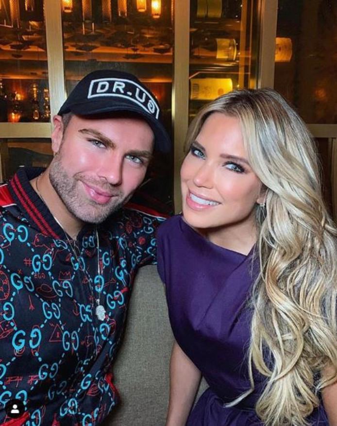Sylvie Meis met haar BF, modeontwerper André Borchers