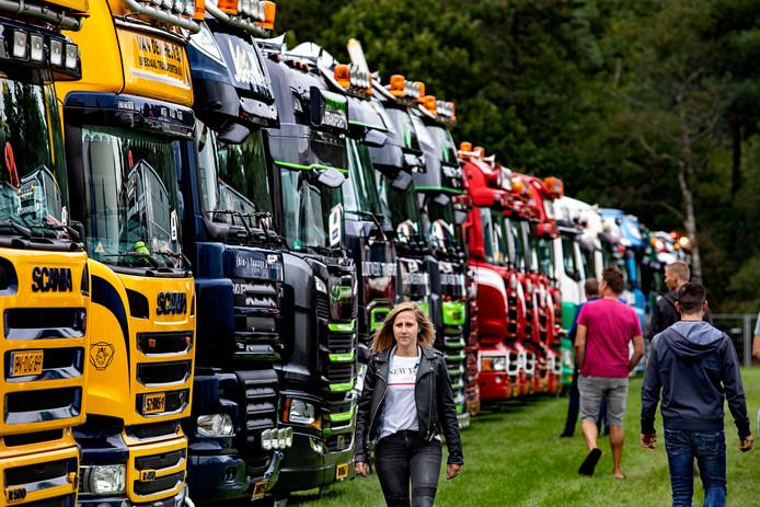 Truckshow in Liessel.