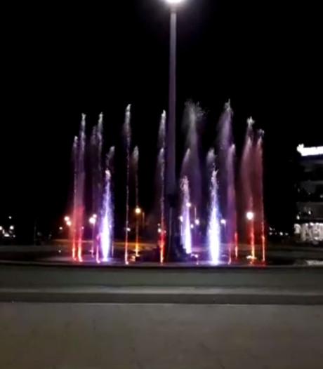 FC Twente-fontein spuit op de stem van Gerry Marsden