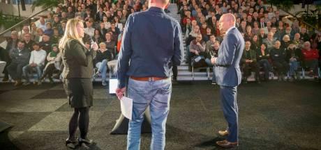 Vuurwerk rond PVV en DENK tijdens verkiezingsdebat in Arnhem