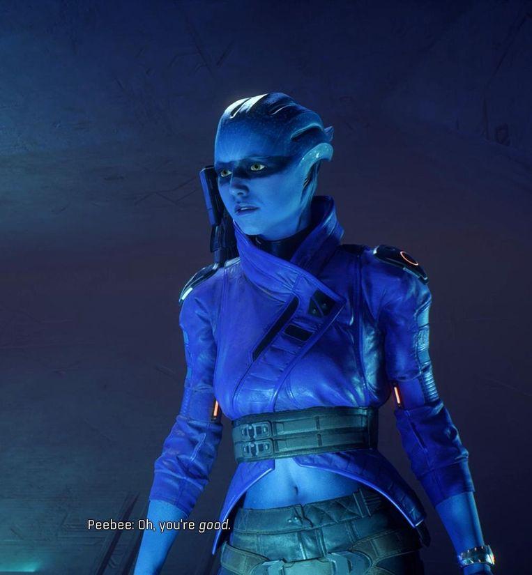 Smurf in Mass Effect Andromeda? Beeld BioWare