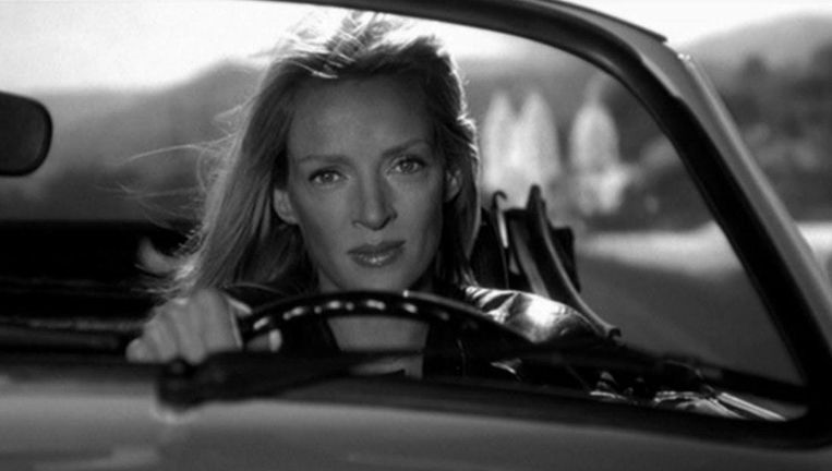 Uma Thurman in Kill Bill. Beeld