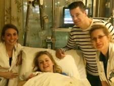 Lott is de nieuwjaarsbaby van het MMC Veldhoven: 'Om nooit te vergeten'