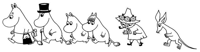 Moemins Beeld Moomin Characters