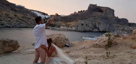 Trouwen in idyllisch Grieks kerkje mag niet meer dankzij dit koppel