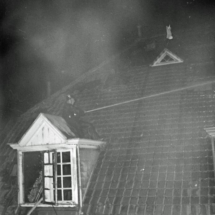 Brand bij Zonhove in Son in 1959