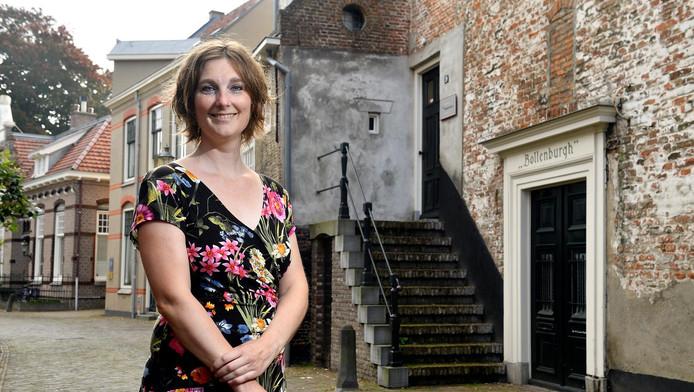 Jojanneke Clarijs bij de Bollenburg.