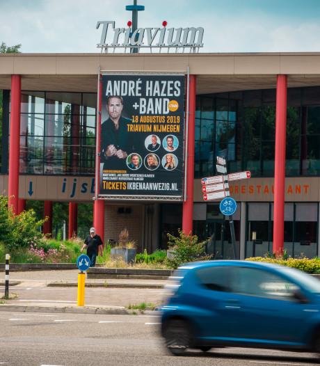 Concert André Hazes in Nijmeegse schaatshal Triavium: 'Dit is een mini-Ahoy'