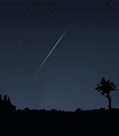 Komende nachten veel vallende sterren te zien