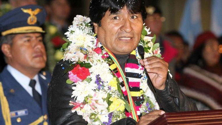 Evo Morales. Beeld epa