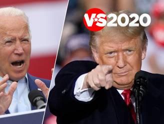 Vinger aan de polls. Wie staat er het best voor in de peilingen, Joe Biden of Donald Trump?