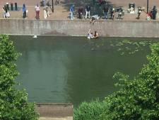 Toerist redt slechtziende vrouw uit Spuihaven in Dordt
