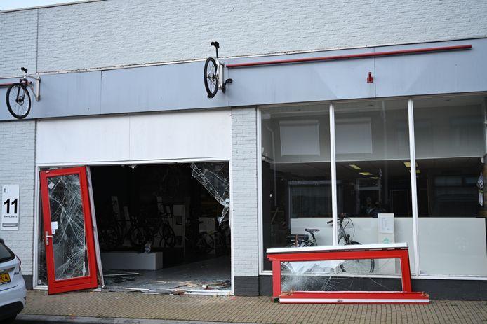 De schade bij Blade Bikes is groot