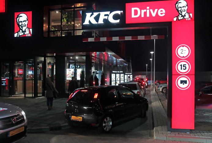 De KFC moest afgelopen zaterdag worden ontruimd vanwege een 'prikkende' lucht.