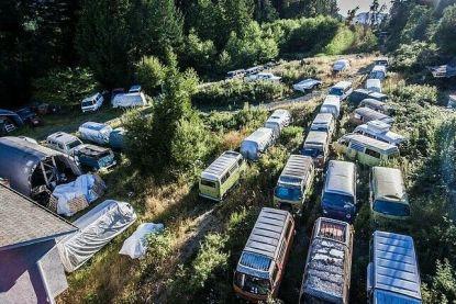 Te koop: 55 roestige VW-busjes voor 300.000 euro