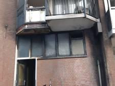 Schade aan panden in Dapperbuurt door brandende motor