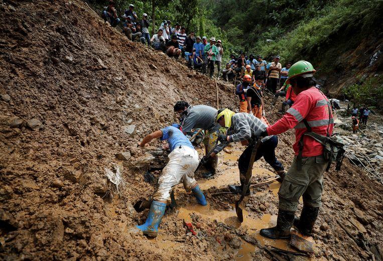 In de Filipijnen zorgden aardverschuivingen voor heel wat menselijk en materieel leed.