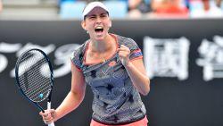 Elise Mertens kwalificeert zich voor derde ronde Australian Open