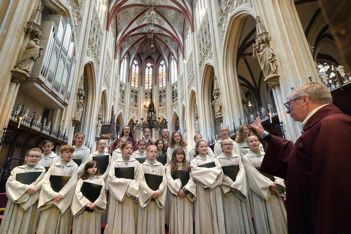 Schola Cantorum in de Sint-Jan.