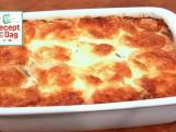 Lasagne van gegrilde courgette