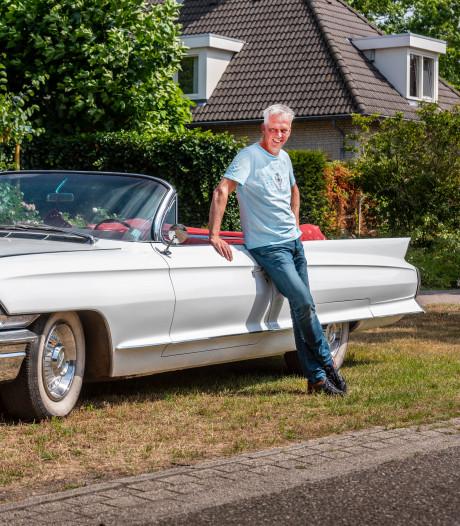 Elvis Presley had zelfde Cadillac als Egber Smits: wit met roodleren bekleding
