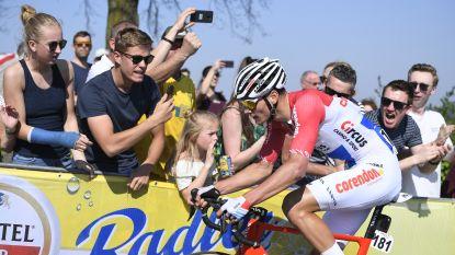 LIVE AMSTEL GOLD RACE. Ook Alaphilippe probeert het van ver: Fransman trekt met Fuglsang in het offensief