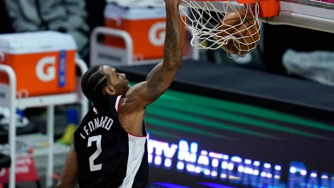 NBA. Kawhi Leonard stuwt LA Clippers naar zevende zege op rij, ook Antetokounmpo maakt indruk
