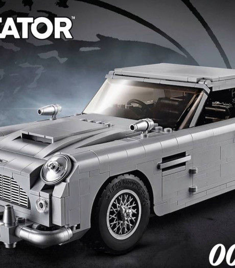 LEGO presenteert James Bond Aston Martin, met schietstoel